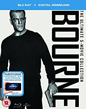 The Bourne Collection (Includes UltraViolet Copy) Blu-ray