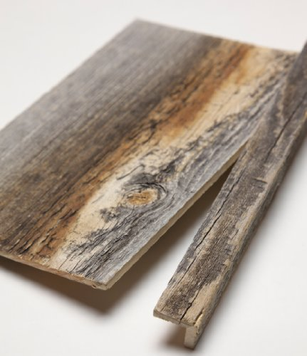 Stikwood reclaimed weathered wood corner trim grey buy for Buy reclaimed wood online
