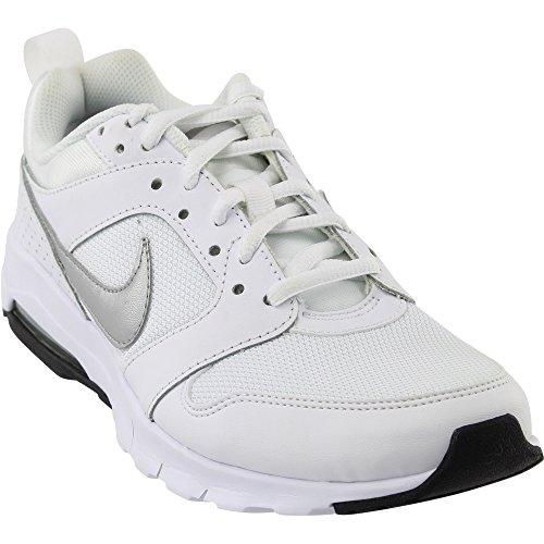 Sportive Blanco Max Nike Air Scarpe Metallic White Wmns Silver Motion Bianco black Donna OaXRq