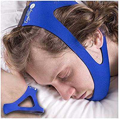 SleepWell Pro Adjustable Stop Snoring Chin Strap from Veluxio