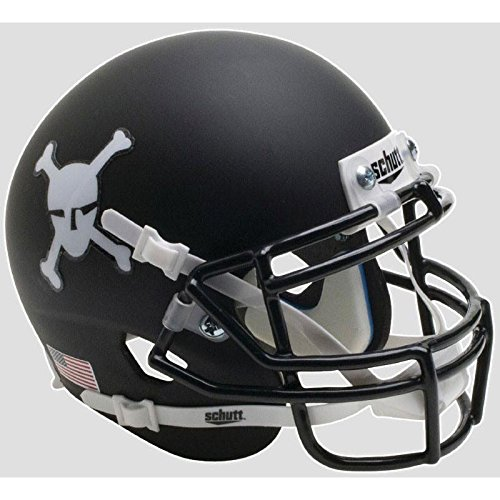 Army Black Knights Matte Black Officially Licensed Full Size XP Replica Football Helmet (Replica Black Helmet Army Knights)
