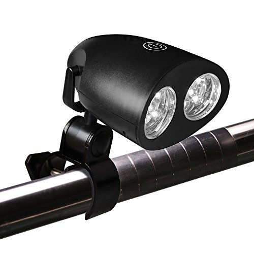 Barbecue Grill Light Ultra Bright LED lights with 3 Settings Touch Sensitive - Perfect for grilling - Heat and Water resistant - Battery operated - Simple Adjustable Handle Bar Mount