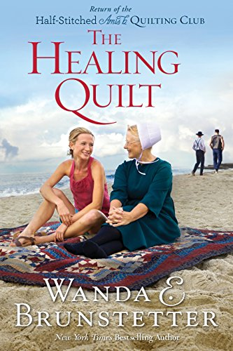 The Healing Quilt cover