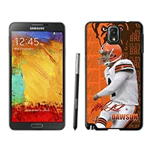 Cleveland Browns-Phil Dawson Samsung Galalxy Note 3 Phone Case XLS7924708