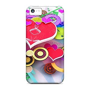 Hot Fashion FNm374ynjk Design Cases Covers For Iphone 4/4s Protective Cases (love 3d Design Widescreen)