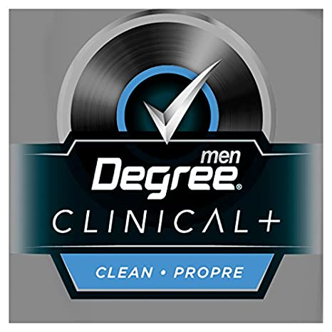 Amazon.com: Degree Men Clinical + Clean Anti-Perspirant Stick 48g: Health & Personal Care