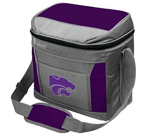 NCAA Kansas State Wildcats Unisex NCAA 16 Can Soft Sided Cooler, Grey - Kansas State Wildcats Watch
