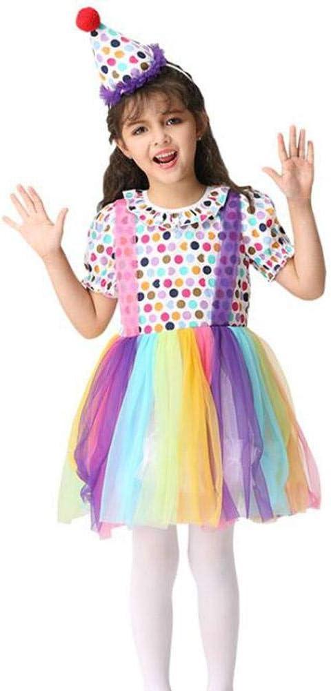 QWE Vestido de Baile para niñas Vestido de Disfraces de Halloween ...