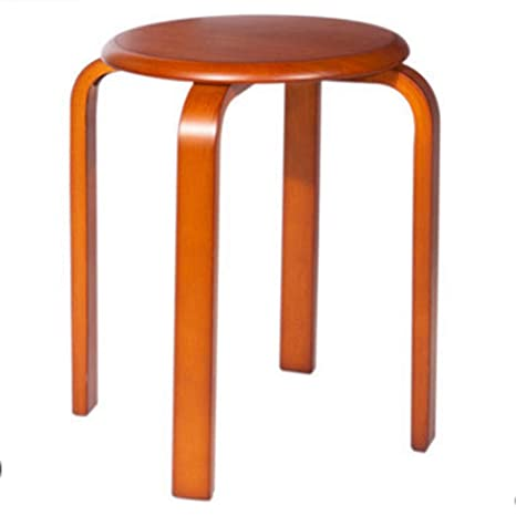 Stupendous Amazon Com Stool Stackable Bentwood Seat Family Low Round Gmtry Best Dining Table And Chair Ideas Images Gmtryco