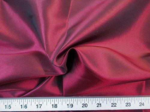 Iridescent Taffeta - Paylessfabric 10 Yard Lot Fabric Two Tone Iridescent Apparel Taffeta Burgundy Taf01