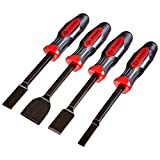 Mayhew 14082 Dominator Straight Scrapers, 4Piece