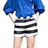 Veri Gude Women's European Fashion Casual Striped Shorts