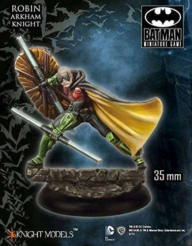[Batman Miniature Game Robin Arkham Knight 35DC093] (Tim Drake Costume)
