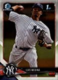 #5: 2018 Bowman Chrome Prospects #BCP161 Luis Medina NM-MT Yankees
