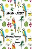 2020-2021 Planner Parrot: 6x9 inches - Two Year Monthly Calendar Planner | 24 Months Planner and Calendar | January 2020 to December 2021 Monthly ... | Agenda Planner and Schedule Organizer