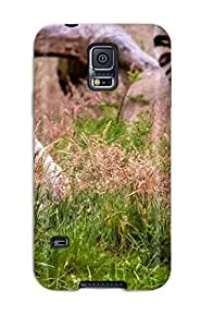 Best 2327429K60423881 New Super Strong Tiger Tpu Case Cover For Galaxy S5