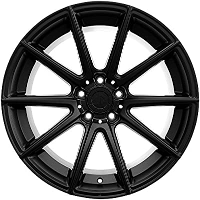 amazon 19 up100 staggered wheel set fits bmw in matte black 2009 BMW Z4 Hatch double tap to zoom