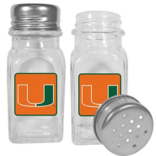 NCAA Miami Hurricanes Graphics Salt & Pepper Shakers ()