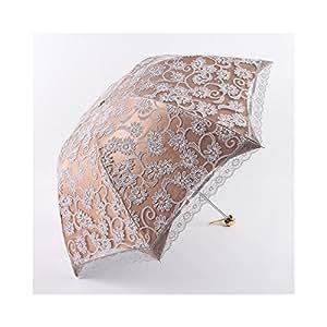 WAWE señoras paraguas de encaje sombrilla plegable paraguas Parasol Anti-UV Vintage umbrella-02