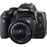 Canon EOS Rebel T6i DSLR Camera with Canon EF-S 18-55mm f/3.5-5.6 IS STM Lens. + 2 Pieces 32GB SD Memory Card + Canon Bag + Cleaning Kit