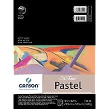 "Mi-Teintes Pastel Pad, Assorted Colors 9""X12"" Fold Over"