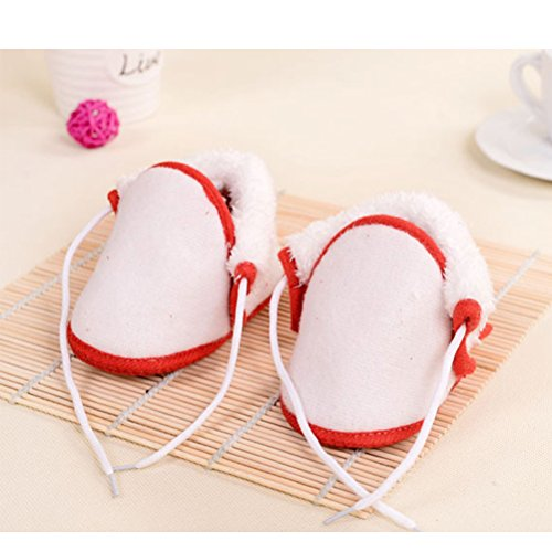 Zhhlinyuan Lovely Bebé Soft Sole Non-slip Shoes Infant Toddler Shoes Learn to Walk Khaki
