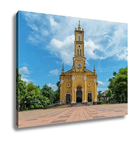 Ashley Canvas, St Josephs Church In Ayutthayathailand Was Built During The R, Home Decoration Office, Ready to Hang, 20x25, AG6535291 by Ashley Canvas