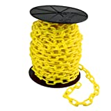 "Product review for Mr. Chain Reel Plastic Barrier Chain, 1.5"" Diameter, 200' Length, Yellow"