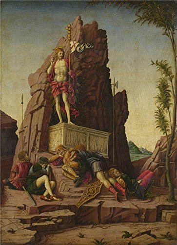 The Perfect Effect Canvas Of Oil Painting 'Imitator Of Andrea Mantegna The Resurrection ' ,size: 30 X 41 Inch / 76 X 105 Cm ,this Amazing Art Decorative Prints On Canvas Is Fit For Home Office Artwork And Home Artwork And Gifts