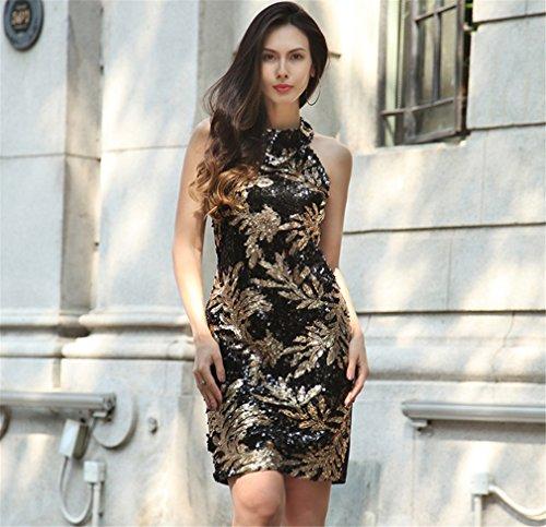Stampa Culturale Formale Donna Corpo Abito Banchetto Curva Vestito Floreale Abito Donna Del Vestiti Casuale Da Stile Elegante qavwXpS