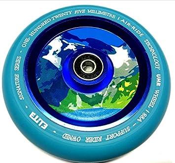 Elite Air Ride Patinete Rollo 125 mm, Aqua (Blau): Amazon.es ...