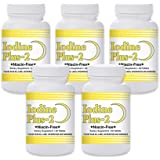 Natural Living Iodine Plus 2 for Low Thyroid - 5 Bottles