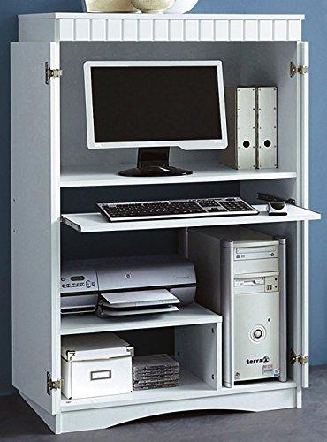 3-2-3-447: Büroschrank - Computerschrank - PC-Schrank - Büro-Schrank, weiß