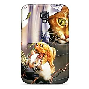 JoGAcOs6456utdUi JamesDLaughlin Awesome Case Cover Compatible With Galaxy S4 - Three Heroes