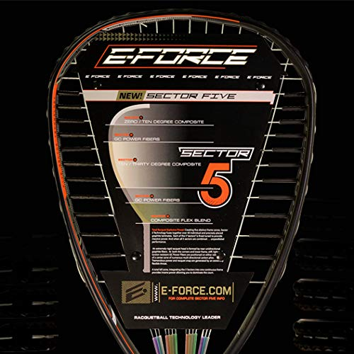 Amazon.com : E-Force High Performance Sector 5 Racquets ...