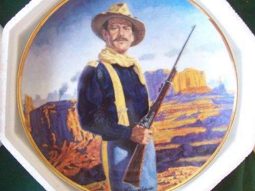 Limited Edition Plate (Franklin Mint John Wayne, Hero of the West Limited Edition Plate No. LC7555 by Robert Tenenbaum.)