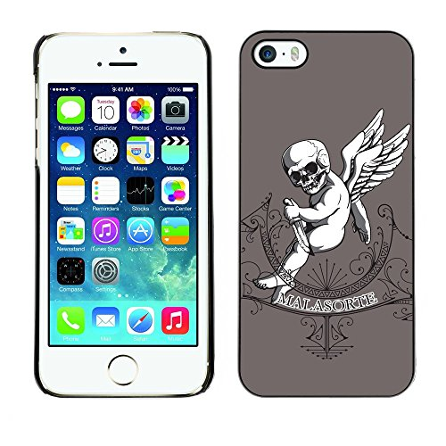 [ For APPLE IPHONE 5 / 5S ][ Xtreme-Cover ][ Coque Rigide Case Cover ] - Malasorte - Evil Goth Baby