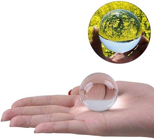 Accessoires de photographie de sphère décorative de boule de cristal de