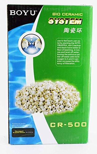 COLOURFUL™ AQUARIUM - BOYU Ceramic Ring | 500g | Aquarium Filter Media (B075PYMJVF) Amazon Price History, Amazon Price Tracker