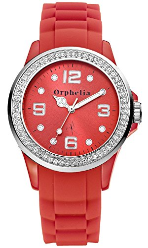 Orphelia OR25100077 - Women's Watch, Silicon, Red Color