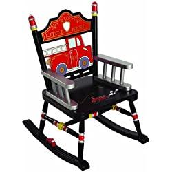 Wildkin Rocking Chair, Fire Engine, One Size