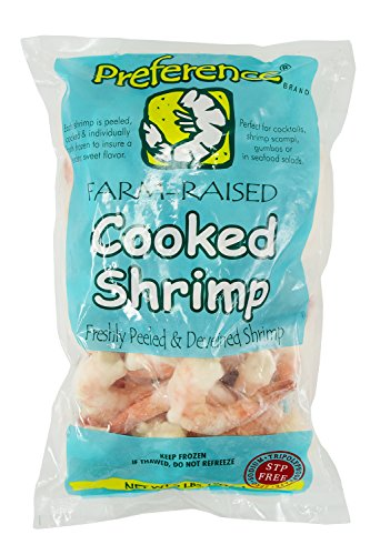 UPC 785621709050, Colosal Cooked Ready to Eat 21/25 Peeled and Deveined Tail-on Shrimp, Individually Frozen, 2 LB Bag