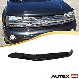 AUTEX Hood Shields Bug Deflector Fits for 2002 2003 2004 2005 2006 2007 2008 2009 Chevrolet Trailblazer Hood Protector Deflector