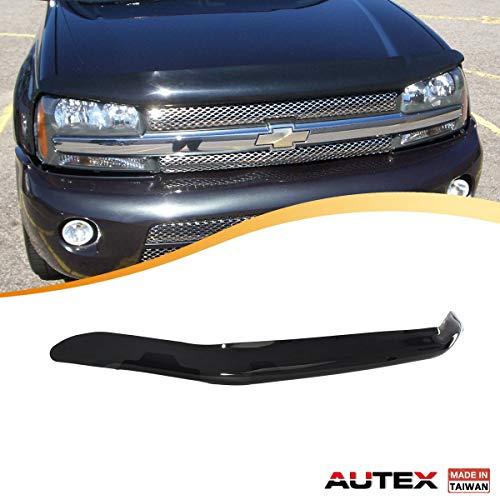 AUTEX Hood Shields Bug Deflector Fits for 2002 2003 2004 2005 2006 2007 2008 2009 Chevrolet Trailblazer Hood Protector (Chevrolet Trailblazer Bug Shield)
