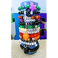 HALLOWEEN Stretch Bracelet Grab Bag/Kandi Bracelets/Kids Jewelry