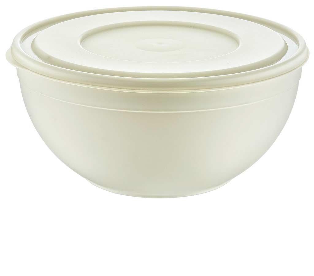Maya Professional Tools 031259b Bowl with Lid Sandy, 6 Liters, beige 6Liters es biss MBYMX