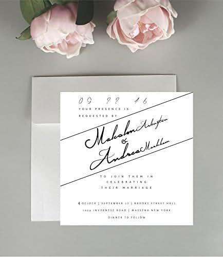 Invitation Packages Wedding: Amazon.com: Script Wedding Invitations, Wedding