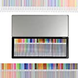 Tavolozza Gel Pen with 46 Pack in a Iron Box