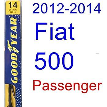 2012-2014 Fiat 500 Wiper Blade (Passenger) (Goodyear Wiper Blades-Premium
