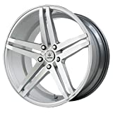 Verde Custom Wheels Parallax Silver Wheel with Machined Face (19x9.5